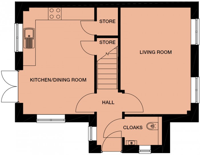 Floorplans For The Faraley, Windermere Road, Middleton, M24 4LB, Manchester