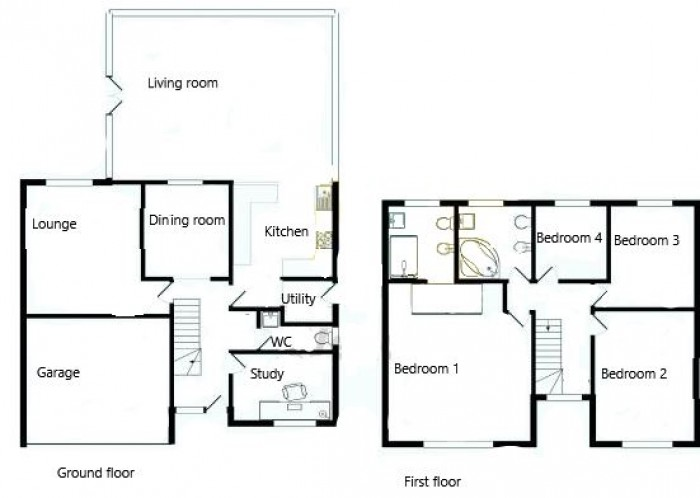 Floorplans For Cornlea Drive, Worsley, Manchester, M28 7XW